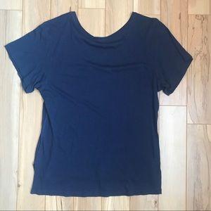 Lululemon Sunaway Runaway short sleeve- hero blue